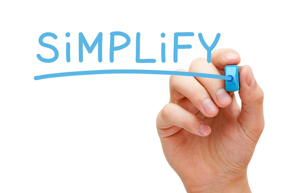simplify streamline
